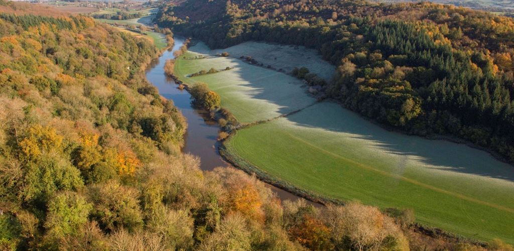 View Wye Valley from Symonds Yat