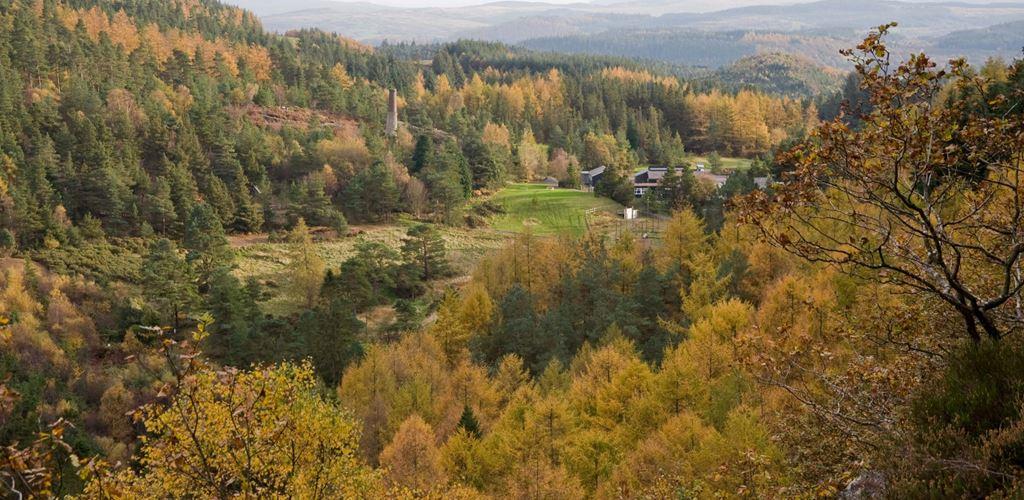 View towards Llyn Sarnau