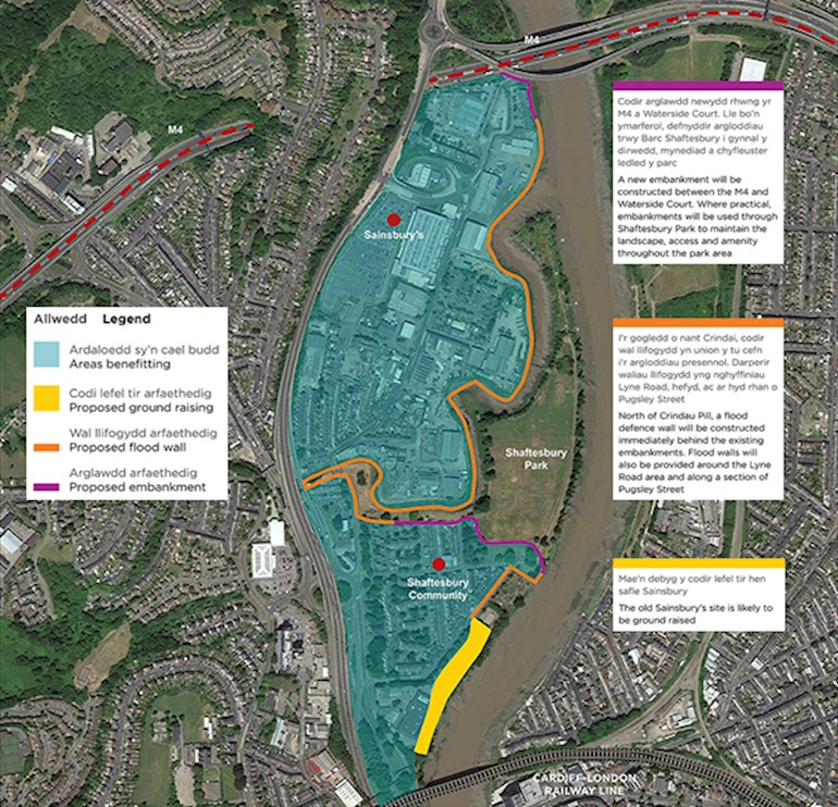 crindau flood alleviation