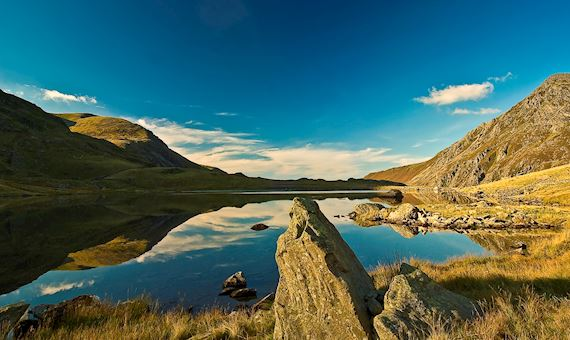 lake at Cwm Idwal