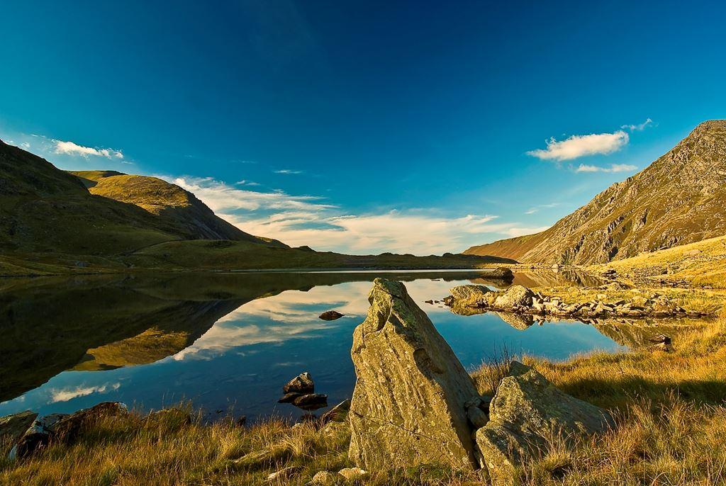 lake at Cwm Idwal