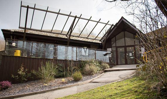 Visitor Centre at Afon Forest Park