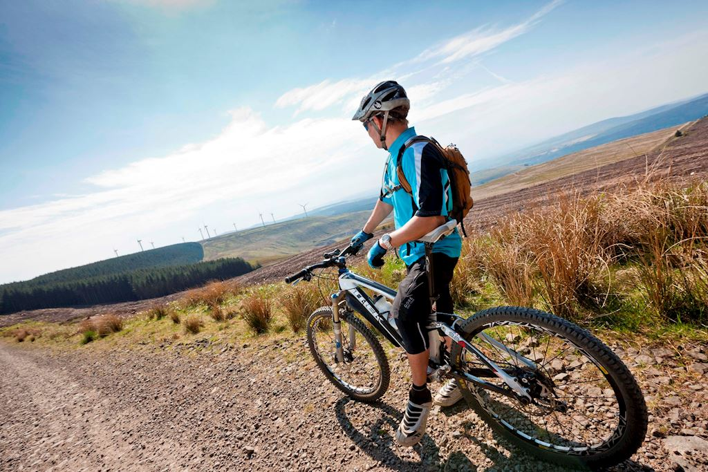 natural resources wales mountain biking in afan forest park