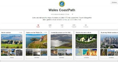 Wales CoastPath on Pinterest