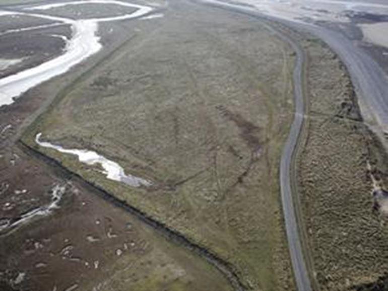 Morfa friog aerial view