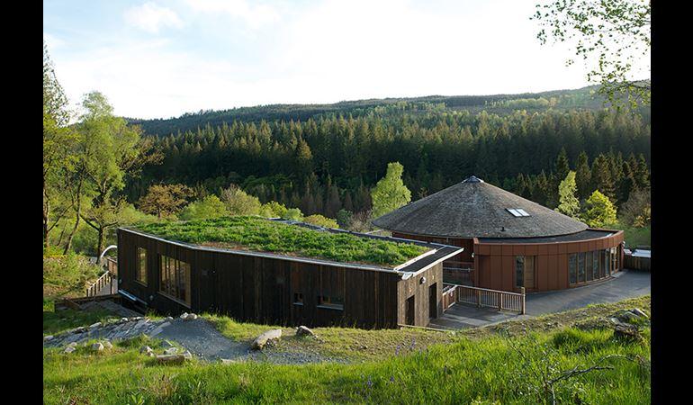 Coed y Brenin visitor centre
