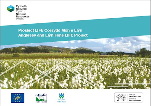 Anglesey and Llŷn Fens LIFE Project summary book cover