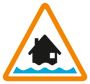 Flood Alert Icon