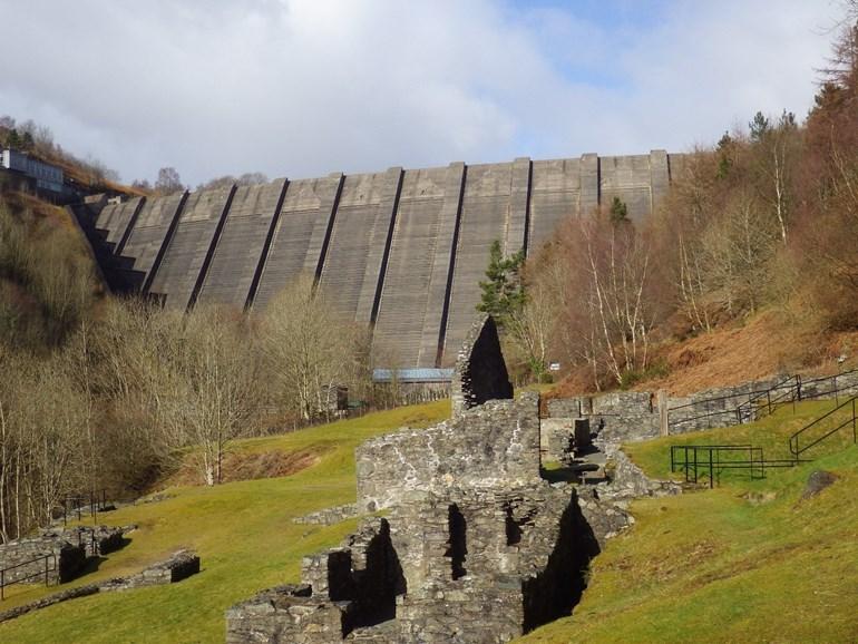 View of a High risk reservoir