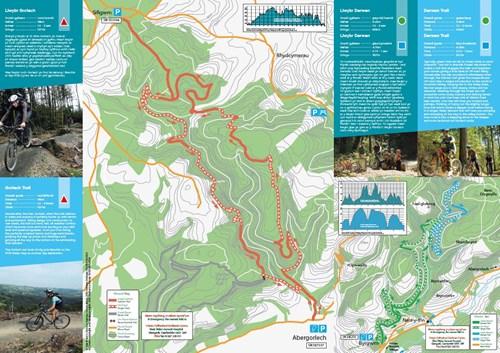 BRECHFA FOREST Bike leaflet