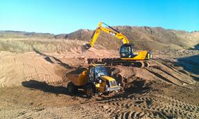 dune reprofiling at merthyr maw