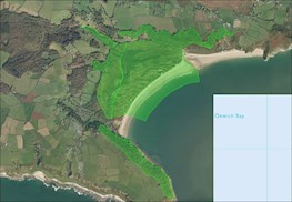 Oxwich map