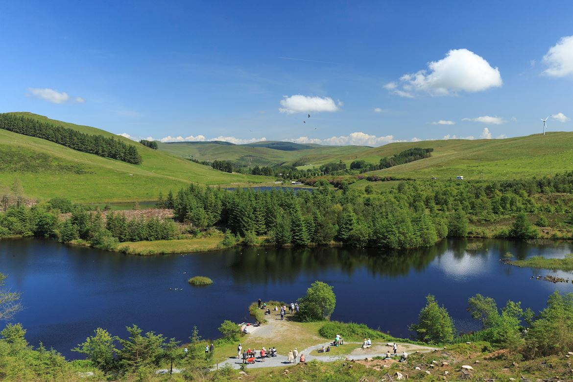 Natural Resources Wales Hafren Forest Near Llanidloes