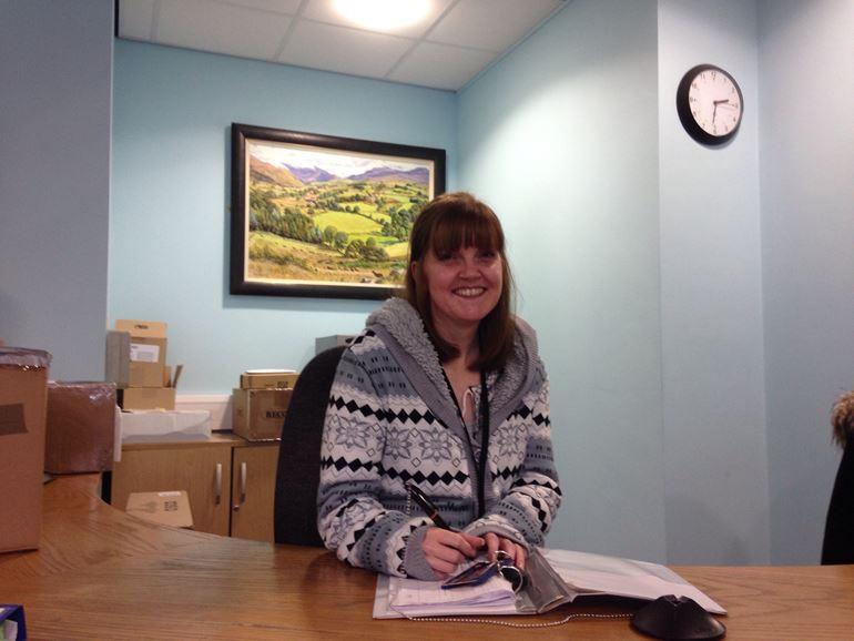 NRW staff member Rachel Scobie