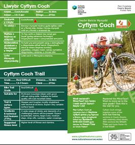 Cyflym Coch MTB trail CyB PDF