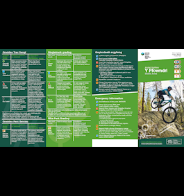 Y Ffowndri Skills Area and Bike Park leaflet