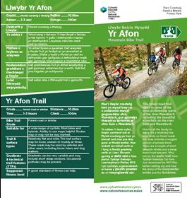 Yr Afon MTB  trail PDF