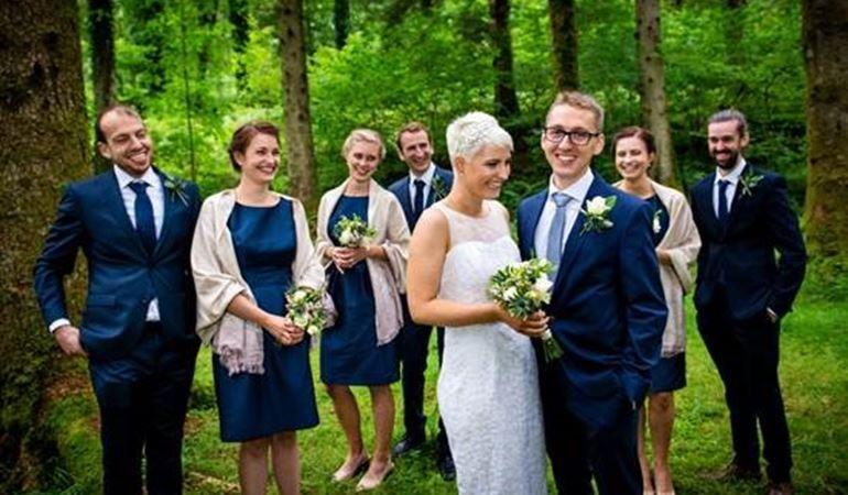 Wedding at Coed y Brenin
