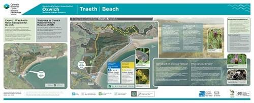 Oxwich NNR trails