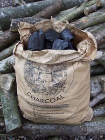 Bag of charcoal