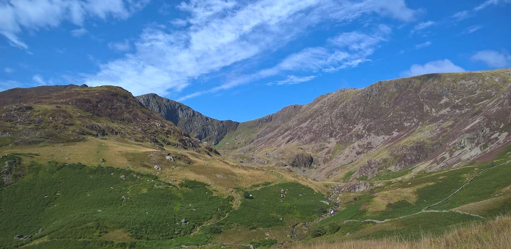 View of Cadair Idris National Nature Reserve