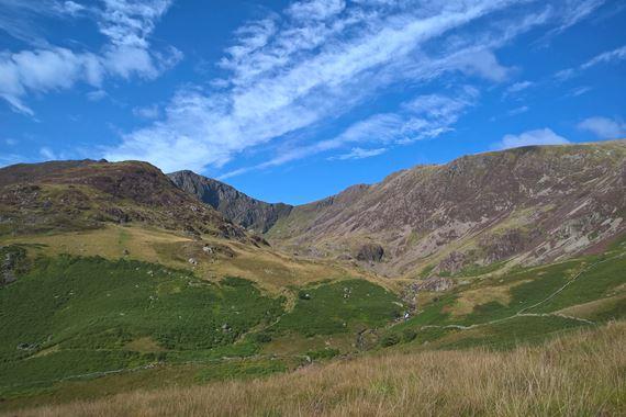 View of Cadair Idris National Nature Reserve