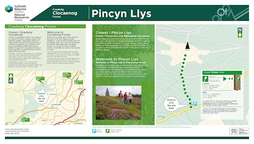 Pincyn Llys leaflet