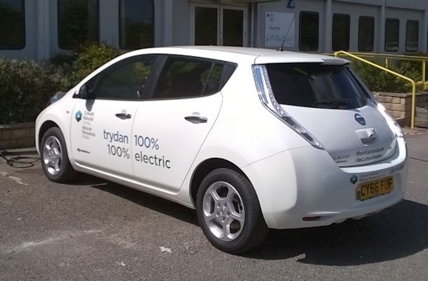 View of a NRW electric car