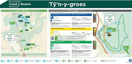 Ty'n y Groes trails