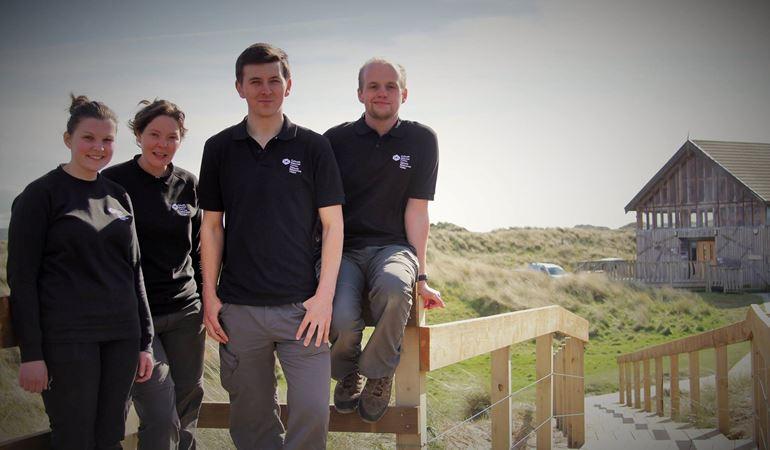 NRW staff members - Jack, Llinos, Catherine, Richard