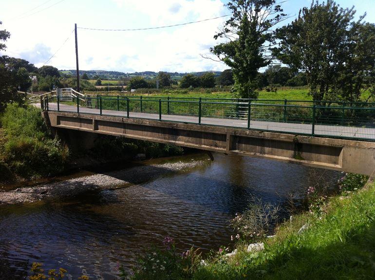 Image of the old spring gardens bridge