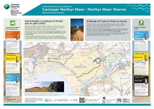 Merthyr Mawr - Teithiau cerdded