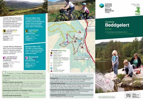 beddgelert trails leaflet