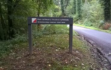 orienteering sign