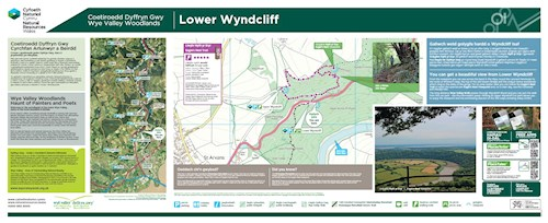 Wyndcliff Wood - Eagles Nest Trail panel