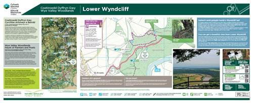 Wyndcliff Wood - Eagles Nest Trail panel