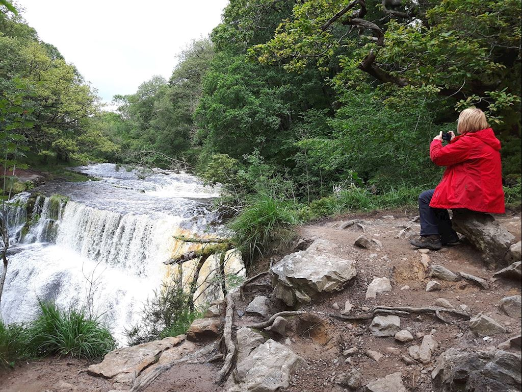 Natural Resources Wales Waterfall Country Woodlands Gwaun Hepste