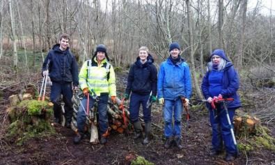Snowdonia society volunteers