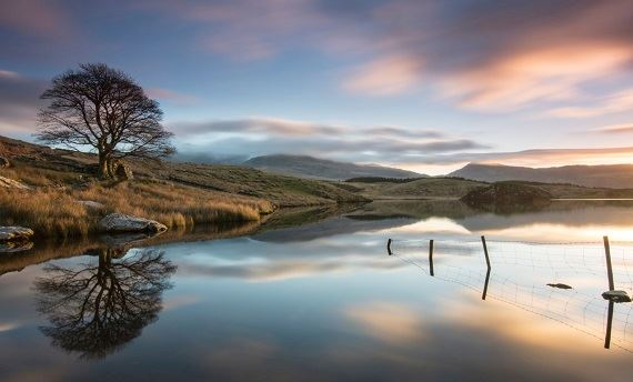 Llyn y dywarchen Snowdonia - photo taken by Rhys Huges