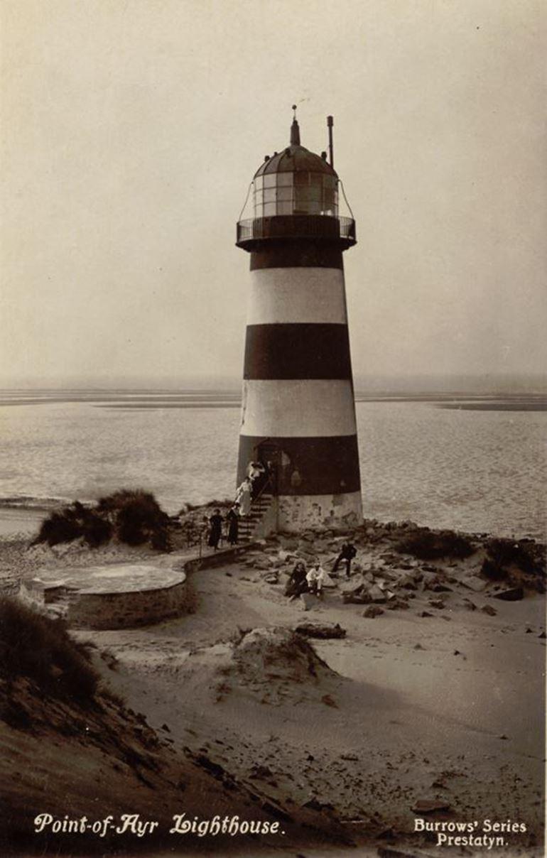 Point-of-Ayr Lighthouse - Burrows' Series Prestatyn