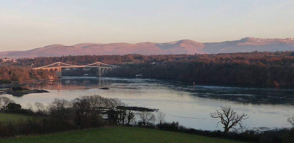 View over Menai Straits
