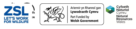 ZSL, Welsh Government and NRW logos