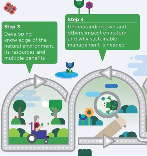 Steps 3 & 4 Natural Progression poster