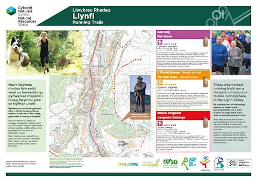 Spirit of Llynfi - running trails