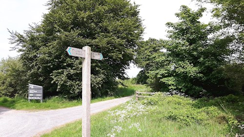 Kerry Ridgeway signpost