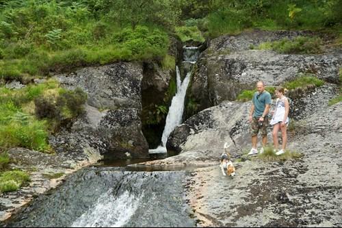 Blaenhafren Falls Trail