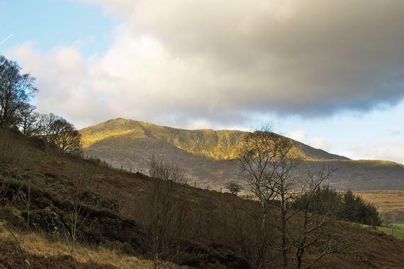 Moel Siabod from Dolwyddelan