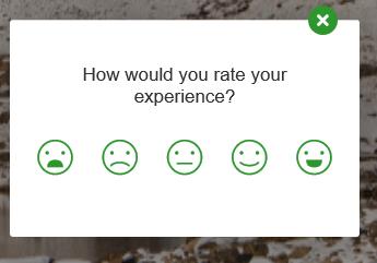 Hotjar feedback