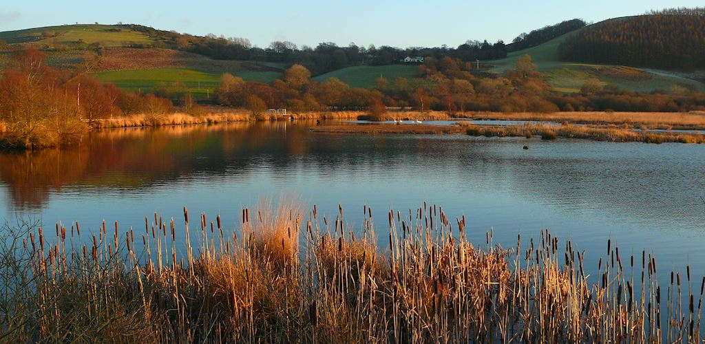 View over Cors Caron
