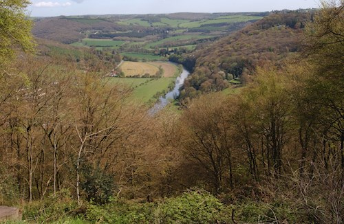 View over river Wye
